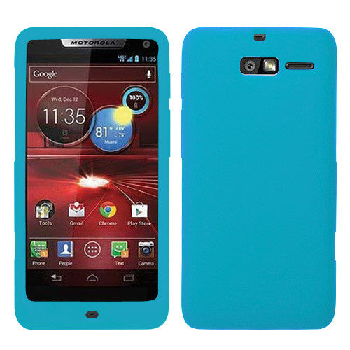 Moto XT907 Solid Skin Cover (Tropical Teal) - JandJCases
