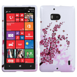 Nokia 929 (Lumia 929) MYBAT Spring Flowers Phone Protector Cover - JandJCases