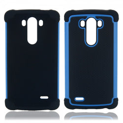 LG G3 2 in 1 Football Design Case Blue - JandJCases