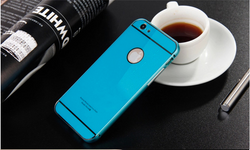 Luxury Aluminum Bumper Case With Back Cover for iPhone 6 and 6 Plus in 4 Colors - JandJCases