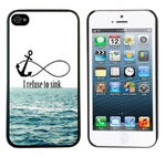 iPhone 5/5S/SE, 1 piece Phone Case (I Refuse To Sink) - JandJCases