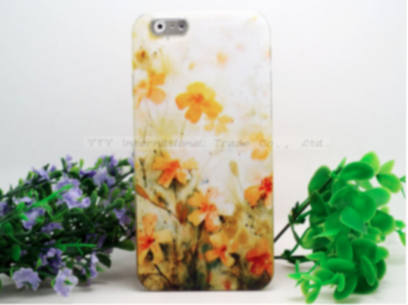 iPhone 6/6S 4.7 Painted Scenery Floral Hard Case - JandJCases