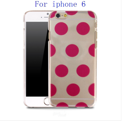 iPhone 6S/6S Plus Ultra Slim Hand Painted Polka Dot Case - JandJCases