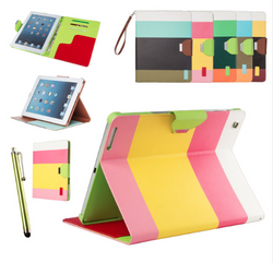 Color blocked case for iPad Mini and iPad 2 3 4 - JandJCases