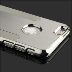 iPhone 6S Plus Luxury Aluminum Back Cover in Silver