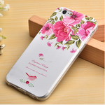 iPhone 6/6s, 6 Plus/6S Plus, 5S/SE  3D Embossed Soft Silicone TPU Cover With Dus - JandJCases