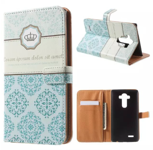 LG G4 Leather Flip Stand Wallet Case With Credit Card/Money Slots - JandJCases
