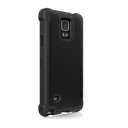 Galaxy Note 4 Black Ballistic Tough Jacket Phone Case - JandJCases