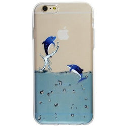 PC Hard Plastic Dolphin Case for iPhone 4/4S, 5/5S, 6/6S and 6/6S Plus - JandJCases