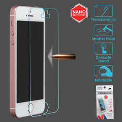 Flexible Shatter Proof Screen Protector for iPhones 5, 6 and 6 Plus - JandJCases