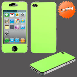 iPhone 4 4S Neon Green Screen Protector - JandJCases