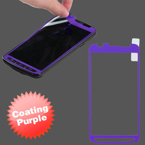 Samsung Galaxy S4 Active Purple Coating Screen Protector - JandJCases