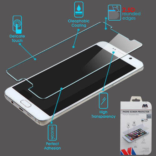 Samsung Galaxy Note 3, Note 4, Note 5 Tempered Glass Screen Protector - JandJCases