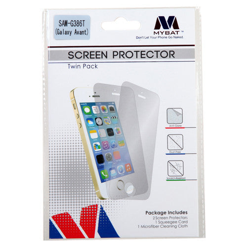 Galaxy Avant Twin Pack Screen Protector - JandJCases