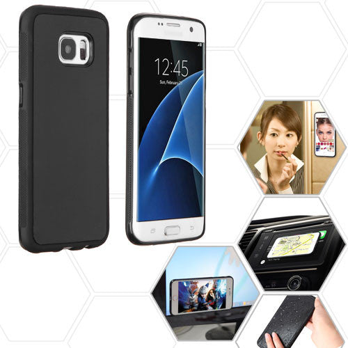 Galaxy Note 4 Black Magic Adhesive Hybrid Phone Protector Cover - JandJCases