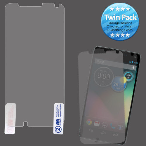 SCREEN PROTECTOR TWIN PACK FOR MOTOROLA MOTO X - JandJCases