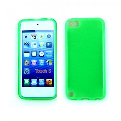 iPod Touch 5 TPU Gel Soft Case (Green) - JandJCases