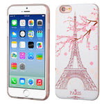 iPhone 6, ASMYNA Paris Eiffel Tower/White Advanced Armor Phone Case (3D Pa - JandJCases