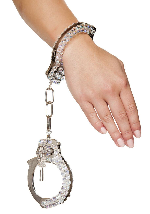 Roma Costume Bling Police Handcuffs from Ginger Candy lingerie