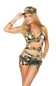 3wishes military Army costume from Ginger Candy lingerie