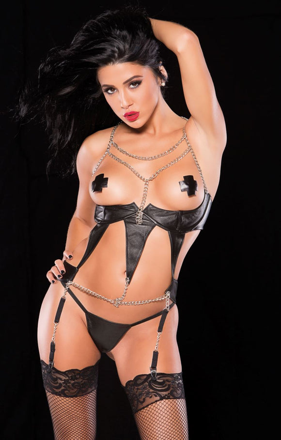 Allure Lingerie underbust corselete from Ginger Candy