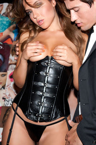 Allure Lingerie leather underbust corset from Ginger Candy