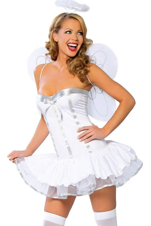 Roma Costume heaven sent angel costume from Ginger Candy lingerie
