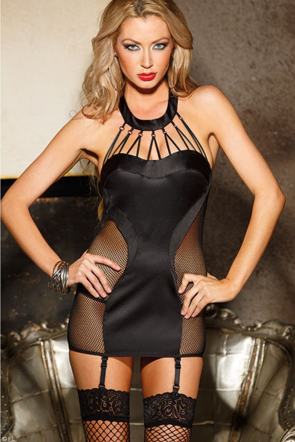 Shirley Of Hollywood chemise from Ginger Candy lingerie