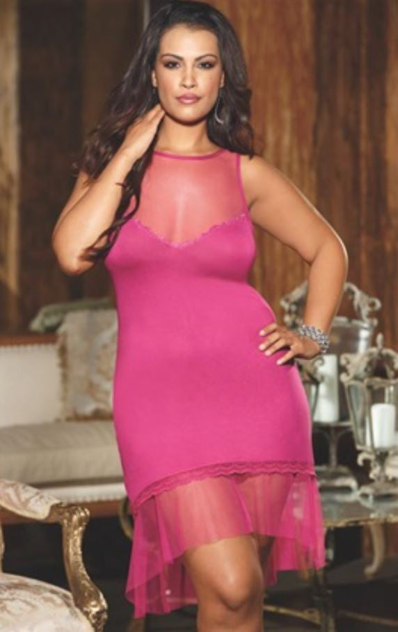 Shirley of Hollywood night gown from Ginger Candy lingerie