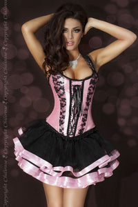 Chilirose corset from Ginger Candy lingerie