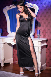 Chilirose long club dress from Ginger Candy lingerie