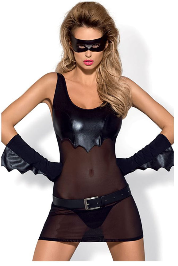Obsessive Batty costume from Ginger Candy lingerie