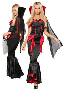 Leg Avenue Vampire Mistress costume from Ginger Candy lingerie