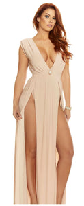 ForPlay sleeveless gown from Ginger Candy lingerie