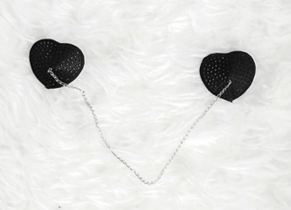 ForPlay heart-shaped pasties from Ginger Candy lingerie