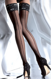 Fiore Melita hold up stockings with backseam | Ginger Candy