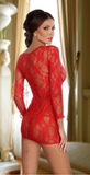 Beauty Night lace dress from Ginger Candy lingerie