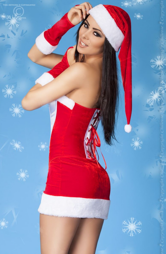Chilirose Christmas costume from Ginger Candy lingerie