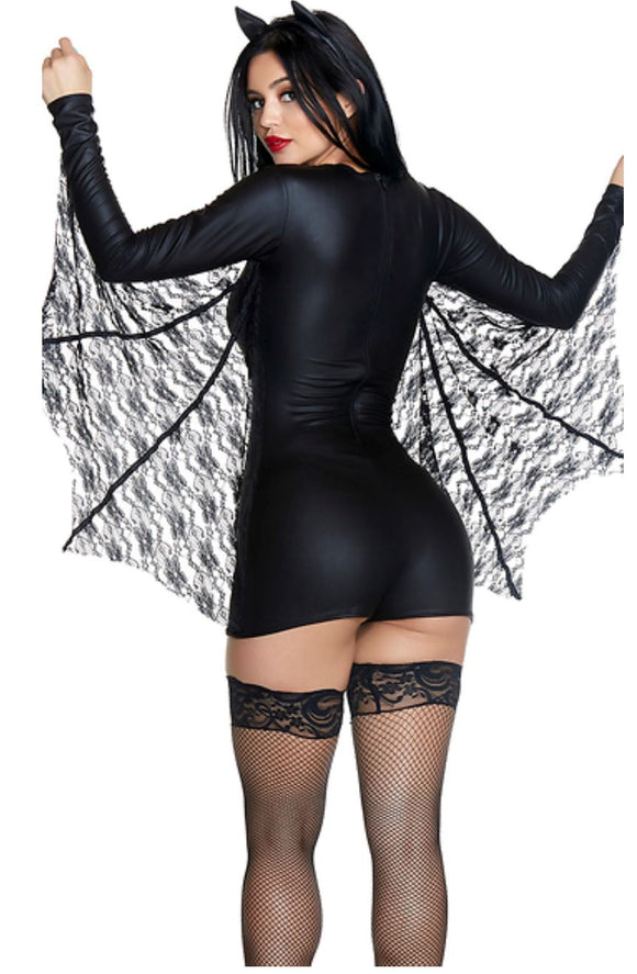 ForPlay Bat Cave costume from Ginger Candy lingerie