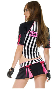 Forplay Referee Umpire costume from Ginger Candy lingerie