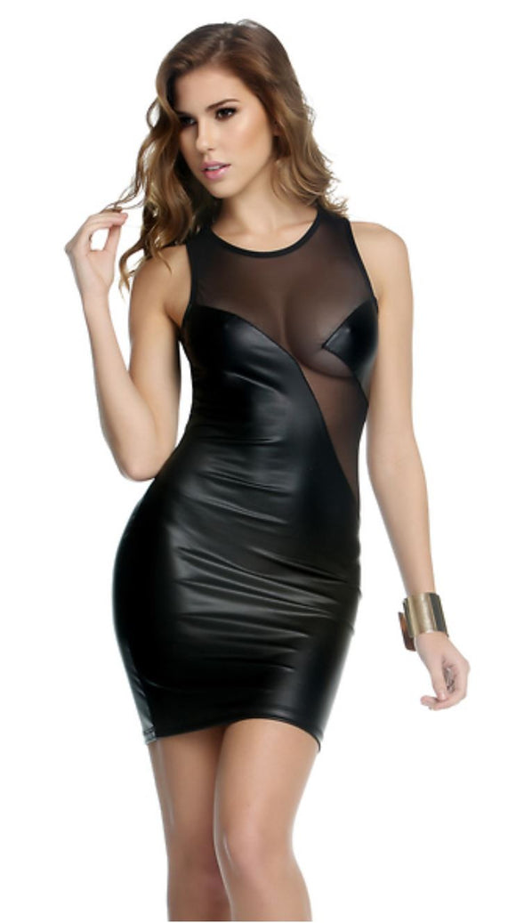 Forplay floating cup illusion dress | Ginger Candy lingerie