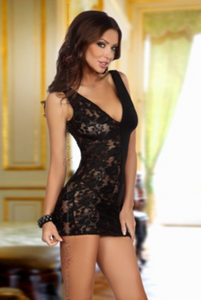 Beauty Night chemise dress from Ginger Candy lingerie