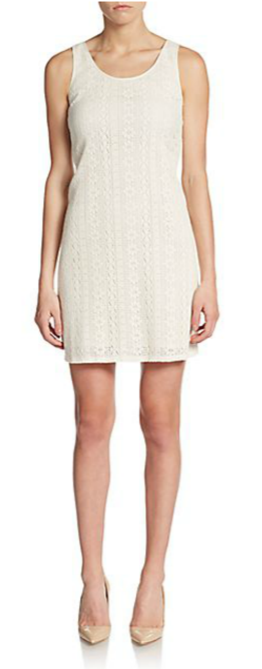 C and C California geo lace cut-out dress | Ginger Candy
