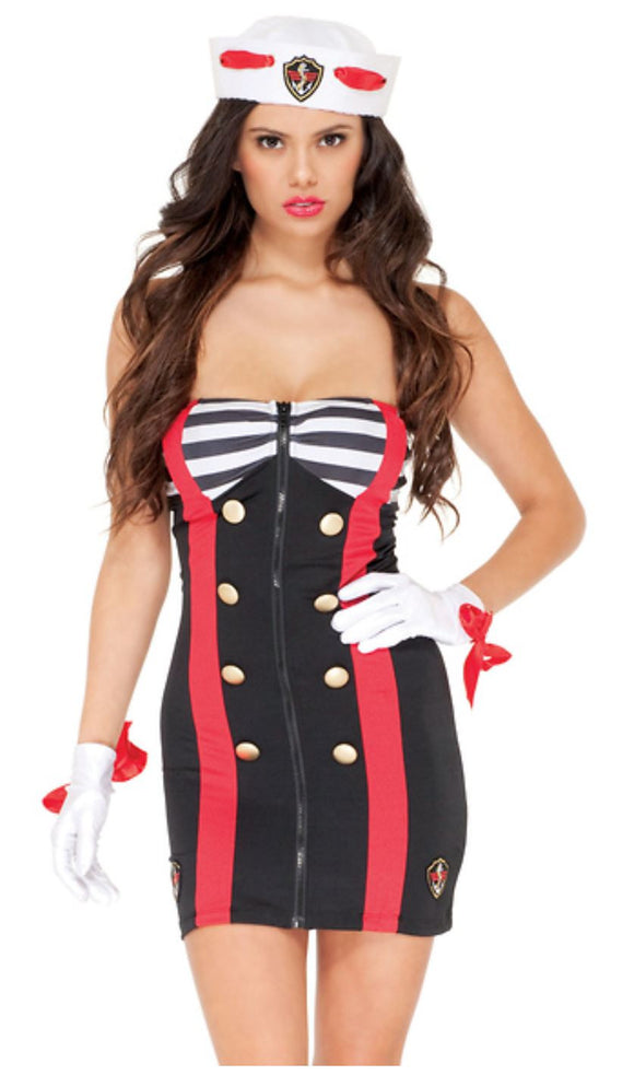 Forplay Sailor costume from Ginger Candy lingerie