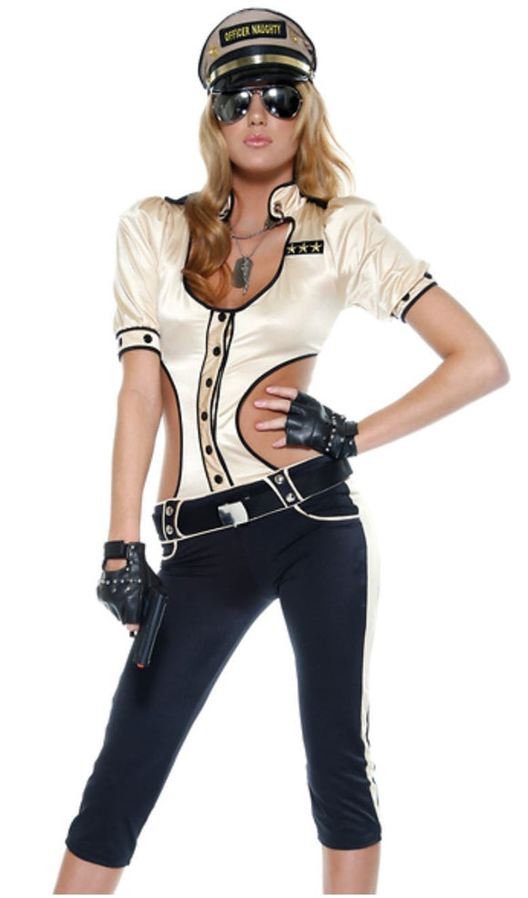 Forplay Highway Hipster Cop costume | Ginger Candy lingerie