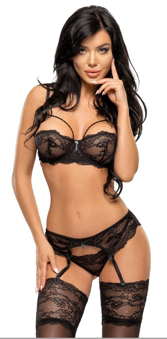 Beauty Night set from Ginger Candy lingerie
