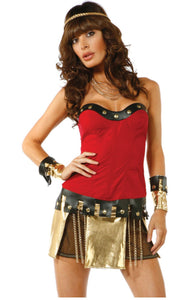 Forplay Gladiator costume from Ginger Candy lingerie