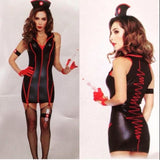 Leg Avenue nurse costume from Ginger Candy lingerie