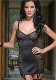 Chemise lingerie in black from Ginger Candy