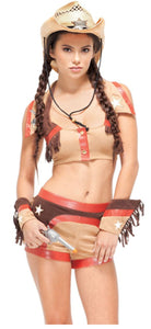 Forplay Cowgirl costume from Ginger Candy Lingerie